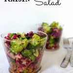 Crunchy Broccoli Raisin Salad