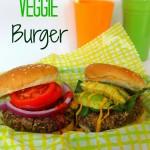 Mushroom Veggie Burger