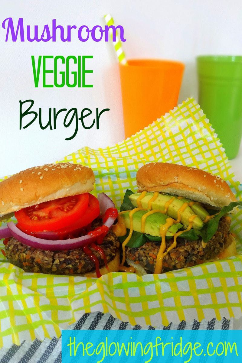 Mushroom Veggie Burger