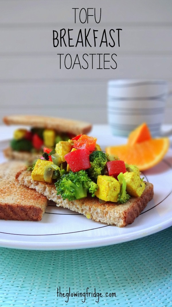 Tofu Breakfast Toasties