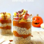 Maple Pumpkin Spiced Overnight Oats