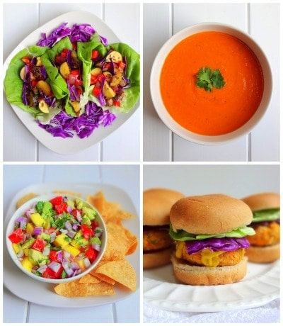 Sneak Peek of beautifully delicious recipes from 'The Glow Effect' Plant Based Starter Guide