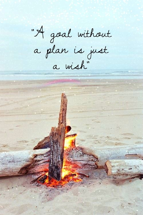 Beach Photo with Quote