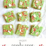 Candy Cane and Marshmallow Peppermint Fudge