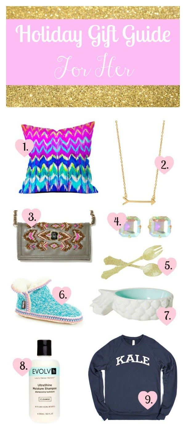 A Unique 2014 Fun and Girly Holiday Gift Guide for Her!