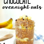 Banana Chocolate Overnight Oats