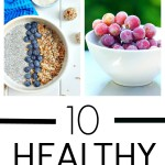 10 Healthy Vegan Snack Ideas