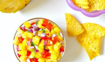 Raw Vegan Pineapple Salsa