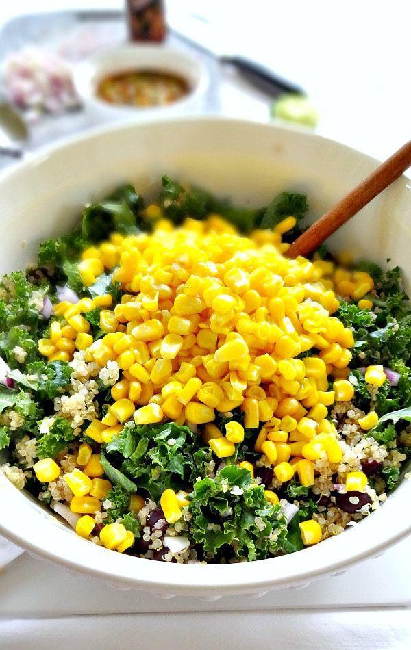 quinoa salat avocado