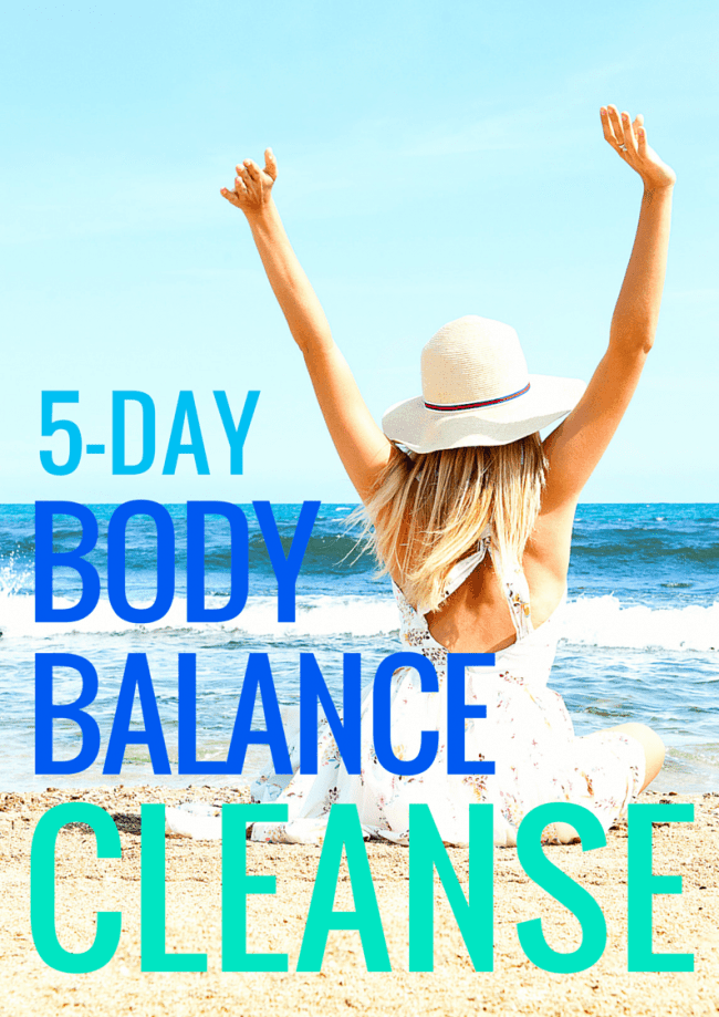 5 Day Body Balance Cleanse