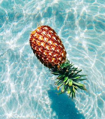 floating pineapple