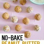 No-Bake Peanut Butter Energy Balls