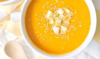 Cleansing Carrot Autumn Squash Soup
