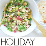 Holiday Kale and Cranberry Salad