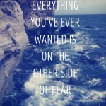 Facing Fears, Nightmares & 2016 Messages