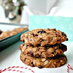 Vegan Cherry Chocolate Muesli Cookies