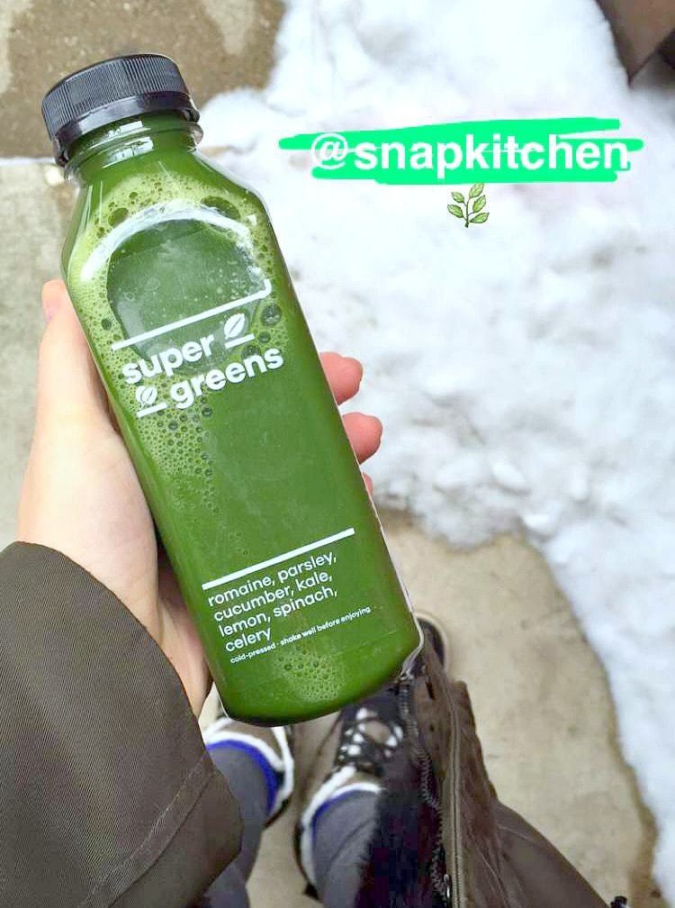 Super Greens Green Juice. What I Ate Wednesday - VEGAN, Plant Based & Healthy! From The Glowing Fridge