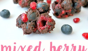 Mixed Berry Chocolate Clusters