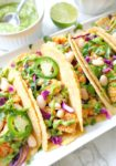 Roasted Cauliflower Tacos with Spicy Avocado Lime Crema