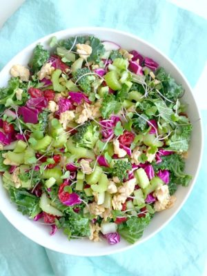 What I Ate Wednesday: Superfood Salads and Tacos