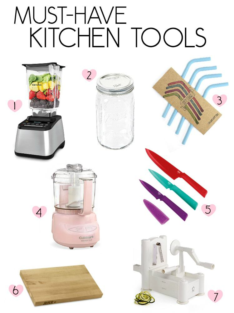 7 Must Have Kitchen Tools
