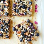 Blueberry Oatmeal Breakfast Bars