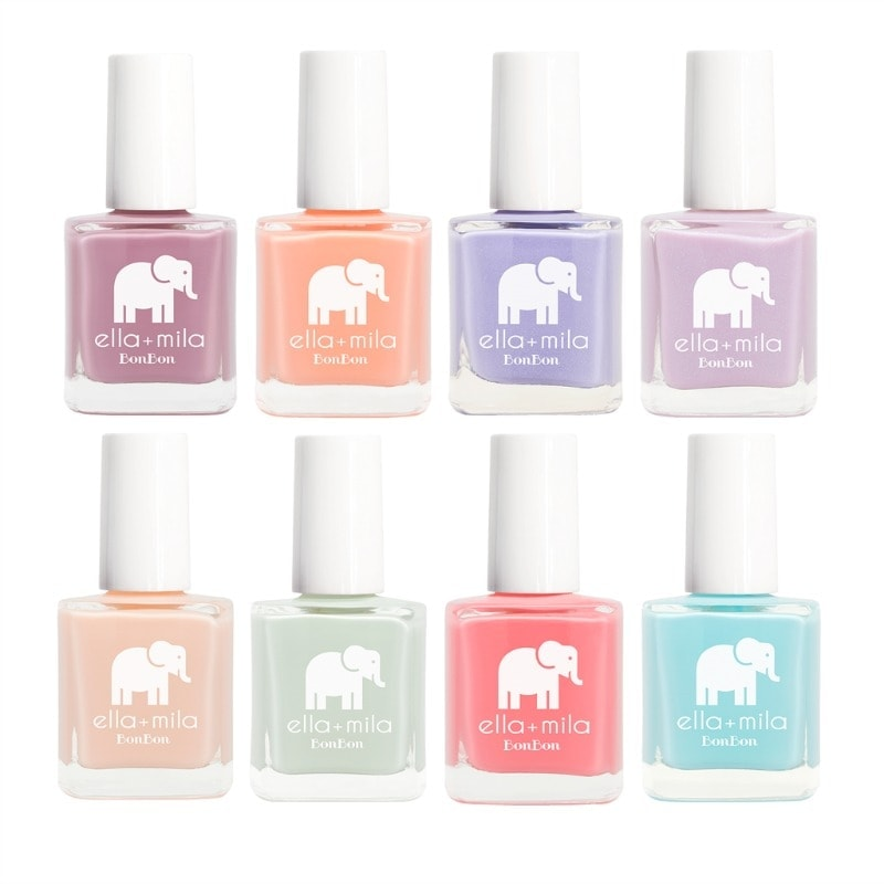 Ella+Mila Nail Polish - Vegan, Cruelty-Free & 7-Free. BonBon Collection