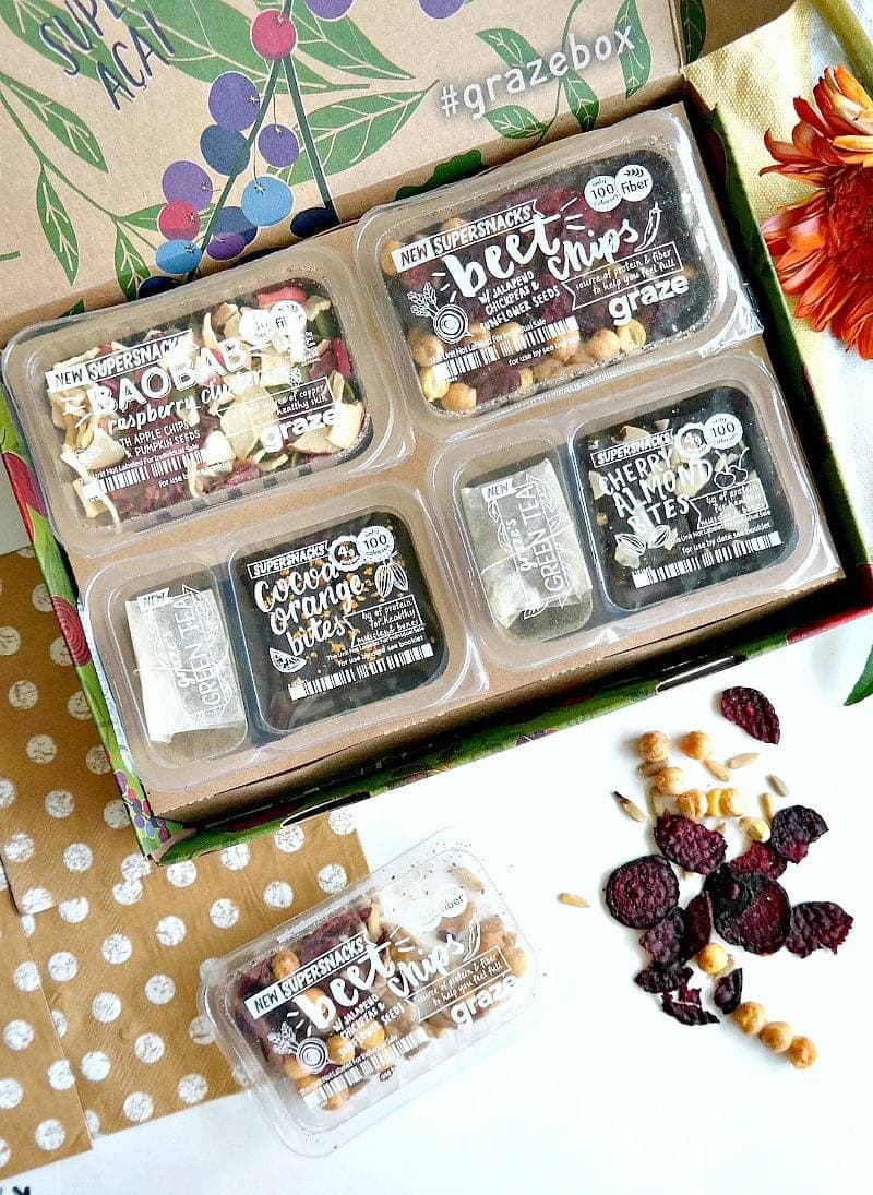 GRAZE snack boxes
