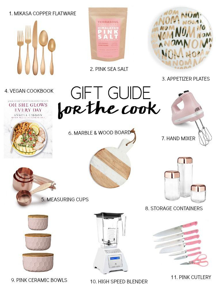2016 Vegan Holiday Gift Guide for the Cook. Kitchen finds for foodies, hostesses and cooks alike! #vegan #holiday #gift #guides