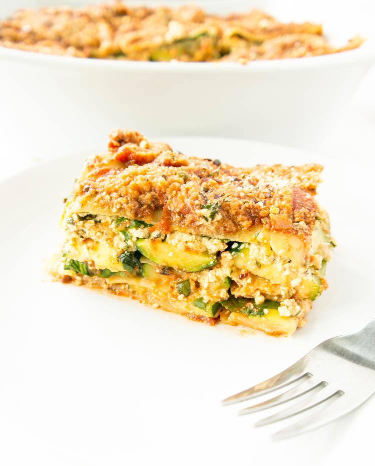 Vegan Tofu Ricotta Lasagna