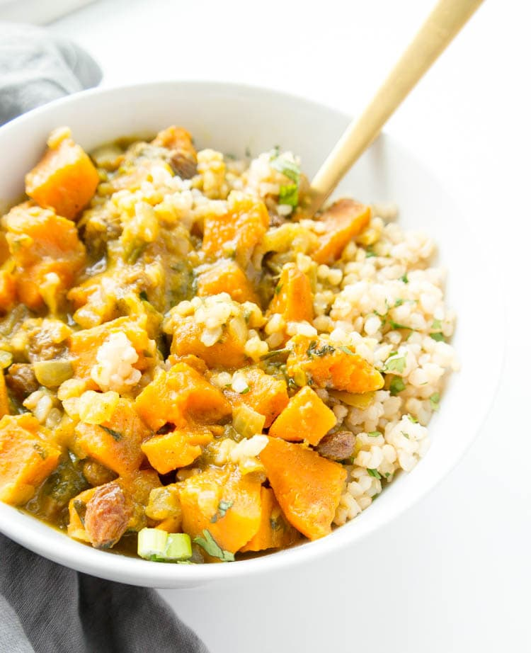 Swift Sweet Potato Coconut Curry
