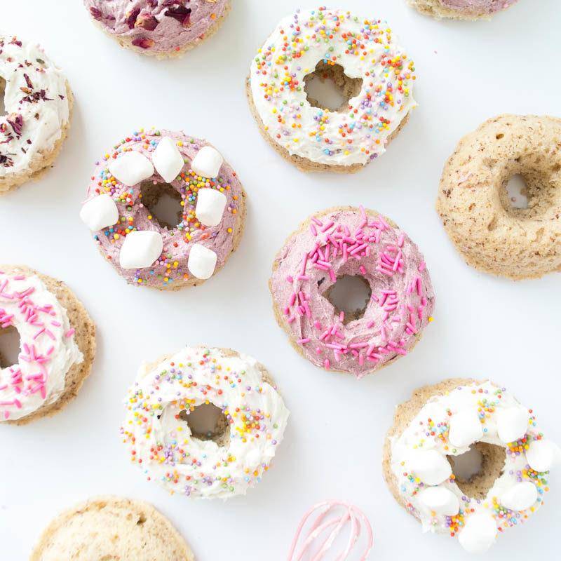Baked Vegan Cake Donuts