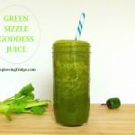 Green SIZZLE Goddess Juice