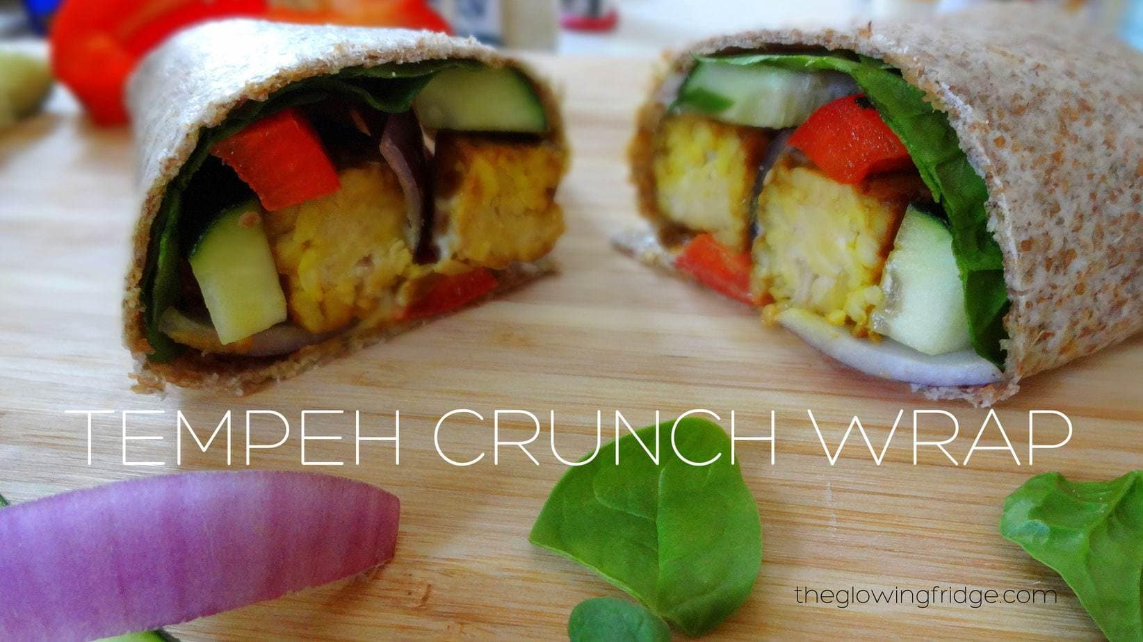 Tempeh Crunch Wrap