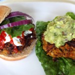 Chickpea and Lentil Veggie Burgers