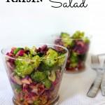 Crunchy Broccoli Raisin Salad