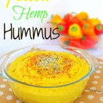 Yellow Hemp Hummus