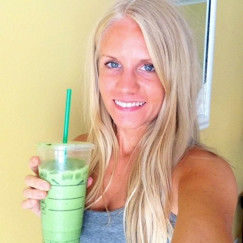 Matcha Soy Latte - What I Ate Wednesday - from The Glowing Fridge