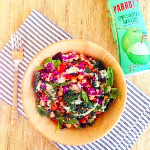 Spring Weekend Power Salad - What I Ate Wednesday - from The Glowing Fridge