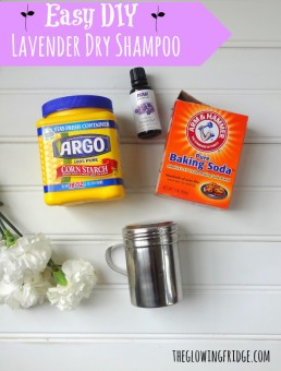 DIY Lovely Lavender Dry Shampoo and My Favorite Vegan Beauty Products