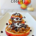 Raw Vegan Caramel Apple Cookies