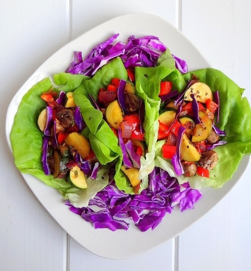 Basil Thai Lettuce Wraps from The Glow Effect Guide