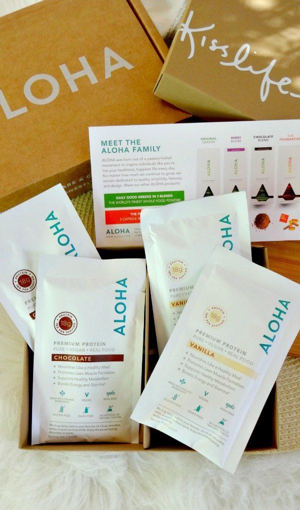 Aloha Premium Plant-Based Superfood Protein Powder