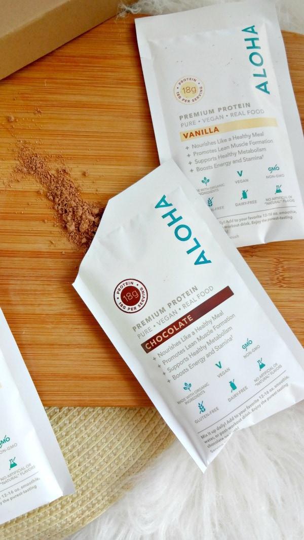 Aloha Premium Plant-Based Protein Powder