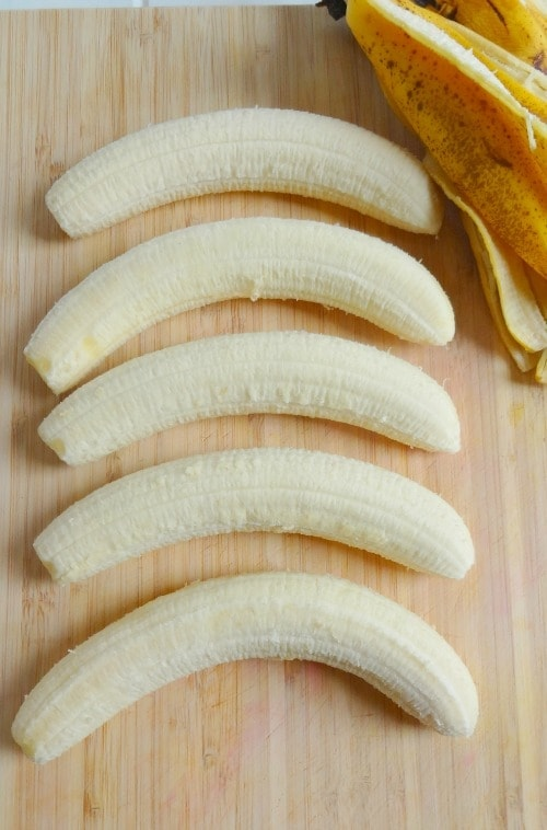 How to Freeze Bananas for smoothies, smoothie bowls + banana ice cream!