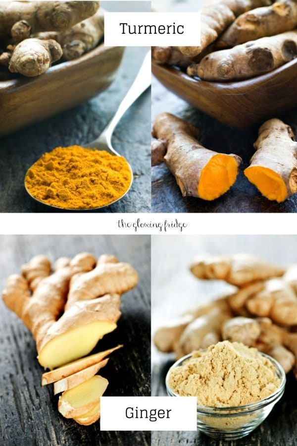 Turmeric Root Ginger Root from The Glowing Fridge