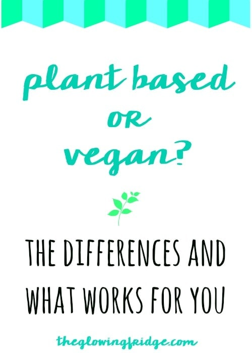 Plant Based or Vegan? What are the differences between? Learn what works for you & what categories you fall under, whether it's the food or the entire lifestyle.