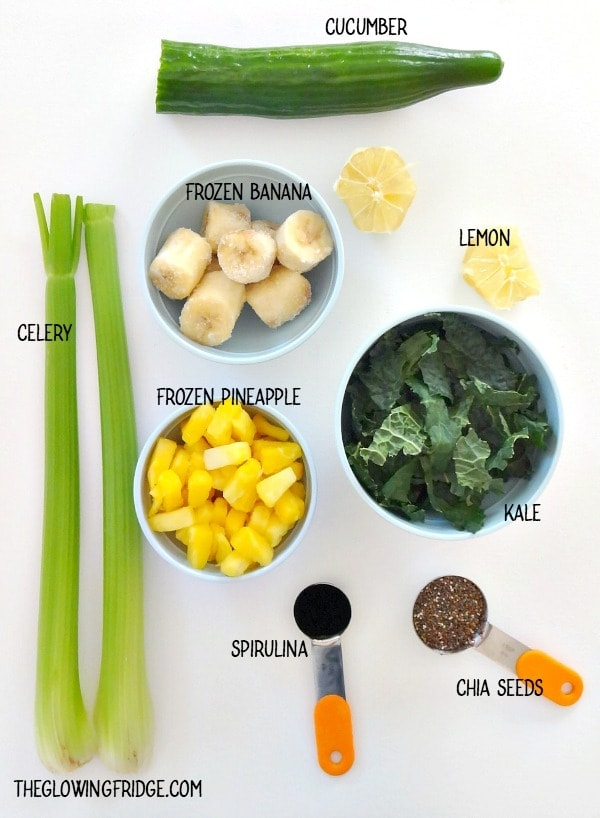 Bikini Ready Green Detox Smoothie The Glowing Fridge