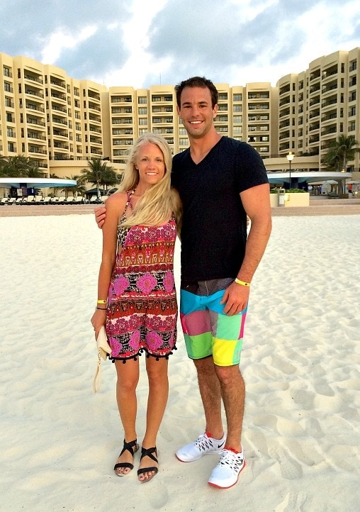 Marty and Shannon in cancun