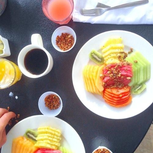 breakfast in cancun
